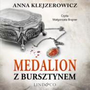 Medalion z bursztynem